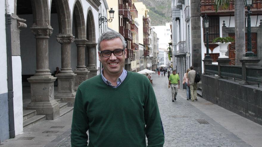 Sergio Matos es alcalde de Santa Cruz de La Palma.
