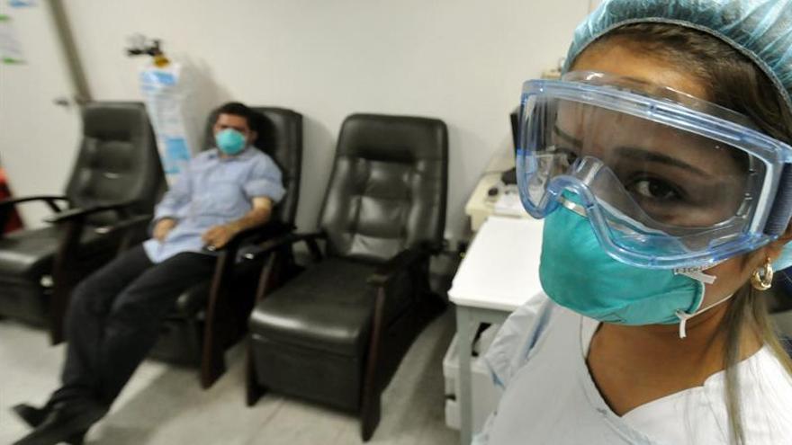 Restringen las visitas en un hospital panameño por un brote de gripe A