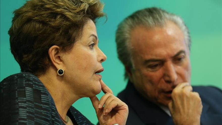 El PMDB destituye al jefe de su grupo en la Cámara baja por su cercanía con Rousseff