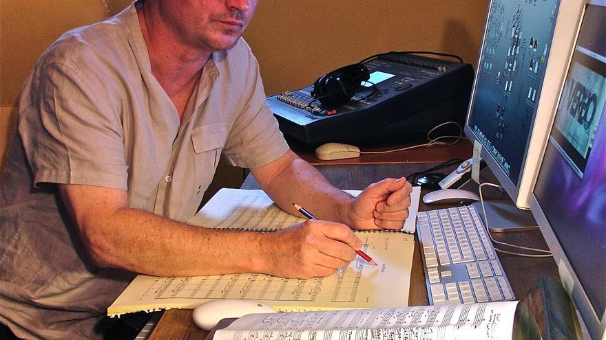 Pascal Gaigne en su estudio