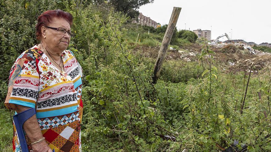 Amparo Pérez, vecina de Santander que ha sido expropiada