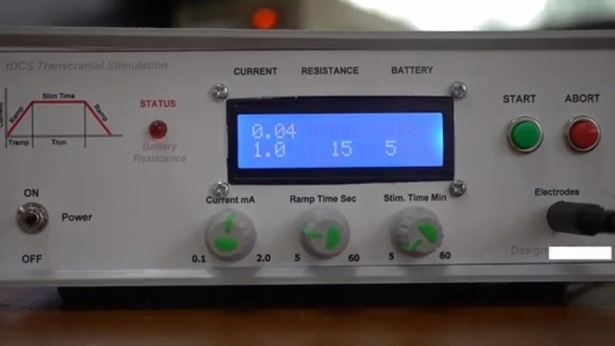 Controlador tDCS (Foto: Youtube)