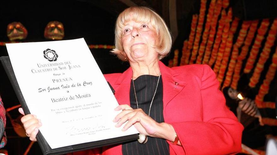 Liber 2016 homenajeará a Beatriz de Moura, fundadora de Tusquets Editores