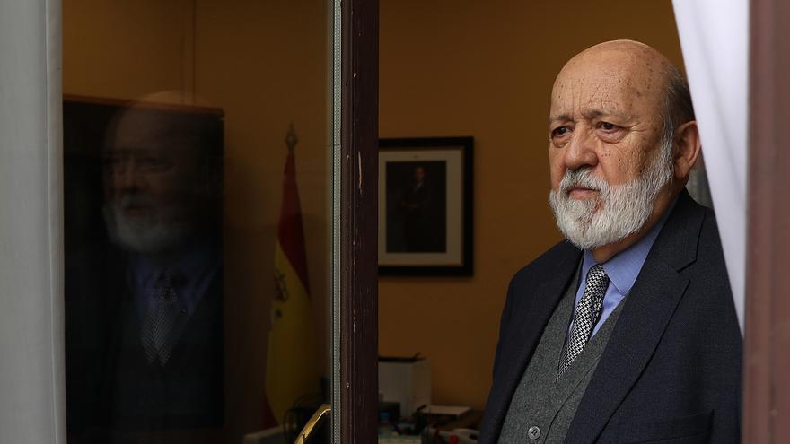José Félix Tezanos, en su despacho del CIS