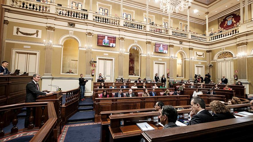 Intervención del presidente Fernando Clavijo en el Debate sobre el Estado de la Nacionalidad Canaria 2017.