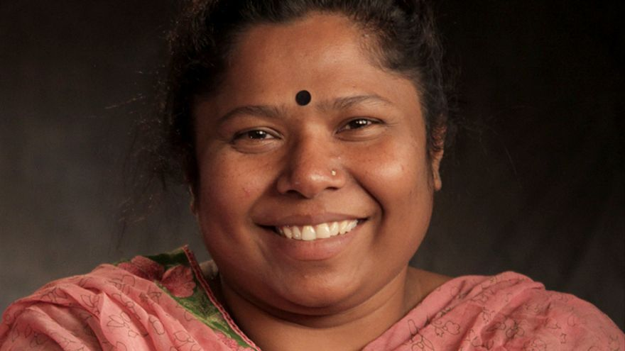 Kalpona Akter dirige el Centro de Solidaridad con los Trabajadores de Bangladesh. / Fotografía: Alan Jacobsen-Sidney Hillman Foundation