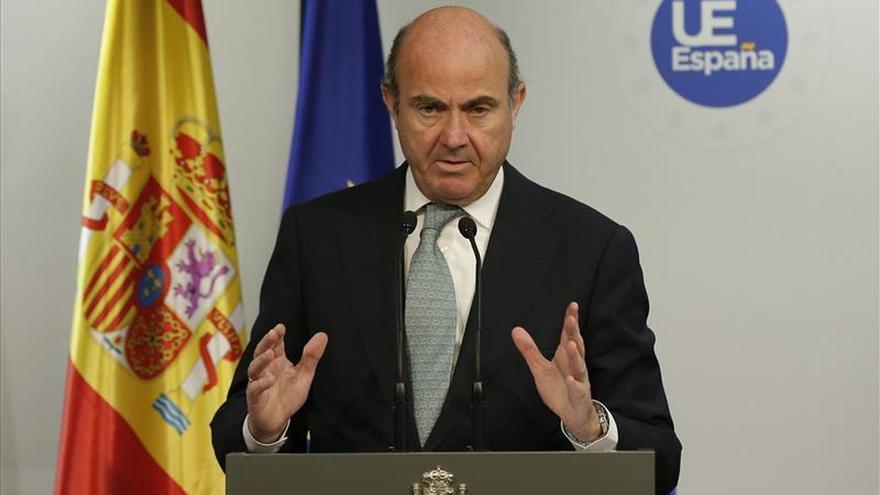 De Guindos se presentará como candidato a presidente del Eurogrupo