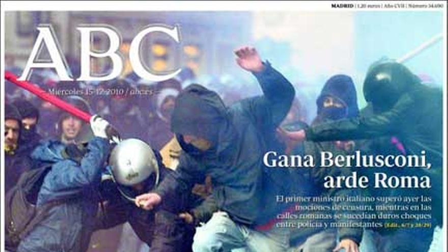 De las portadas del día (15/12/2010) #1