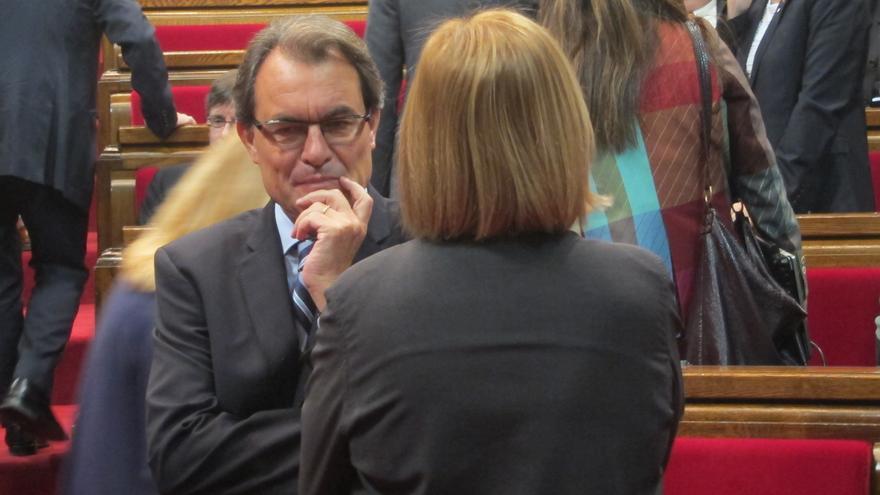 Artur Mas recibirá a los organizadores de la concentración 'Som Catalunya somos España' del 12-O si lo piden