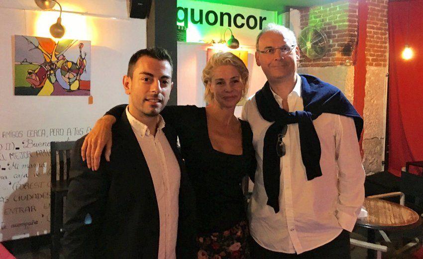Director, protagonista y escritor de 'Atasco' en Quoncor Café