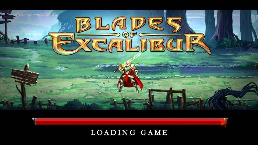 Blades of Excalibur, juega en YouTube