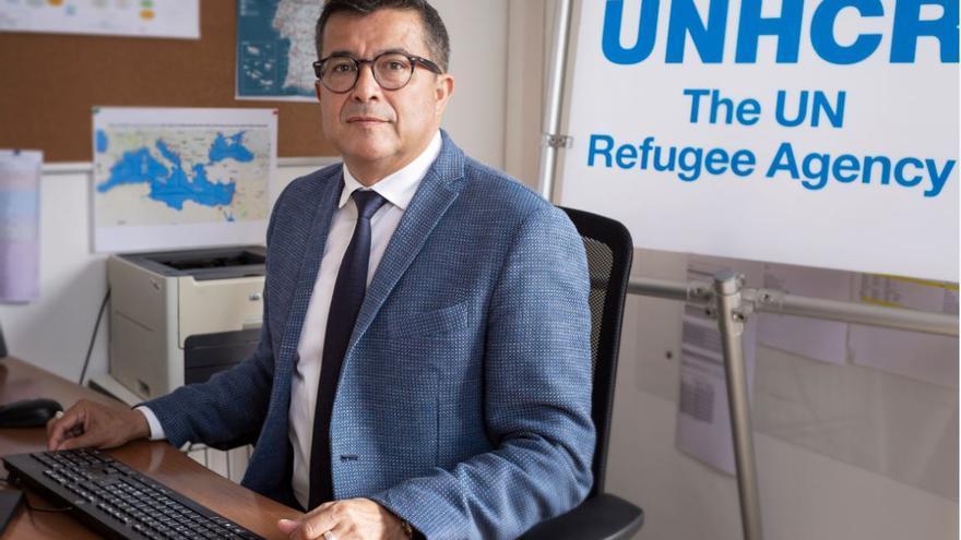 Felipe Camargo, representante regional del Alto Comisionado de las Naciones Unidas para los Refugiados (Acnur) para el Sur de Europa