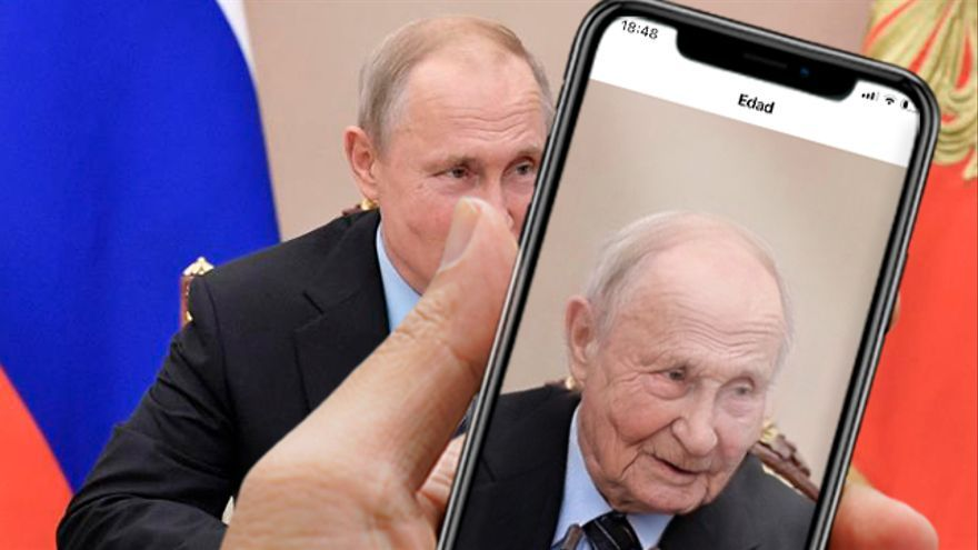 Vladimir Putin, presidente de Rusia, donde está la sede legal de la empresa desarrolladora de Faceapp. En su política de privacidad, la app dice que podrá compartir datos personales de sus usuarios con otras compañías de su grupo empresarial.