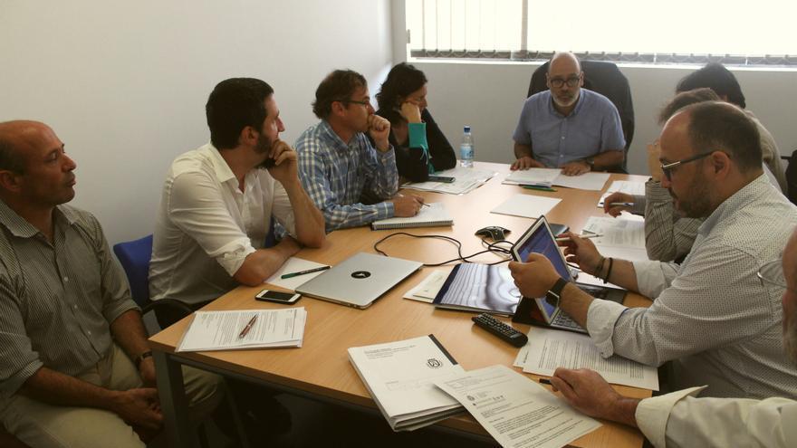 Comisión de Medio Ambiente de la Federación Canaria de Islas (Fecai) presidida por Juan Manuel Brito