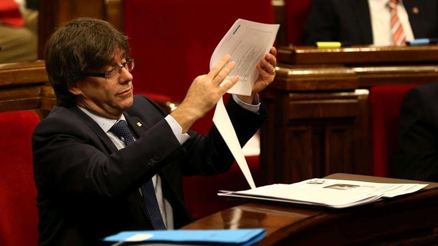 Puigdemont contempla aplazar el referendo si así se acuerda con el Estado