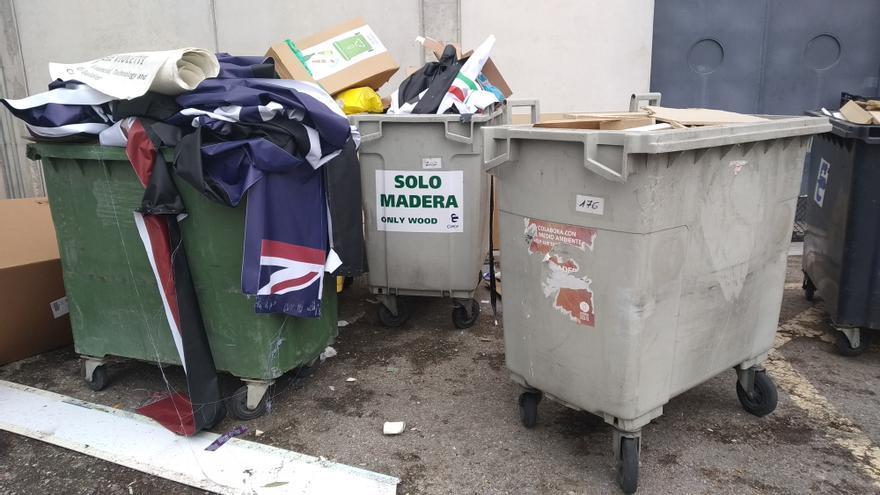 Mezcla de residuos tras la COP25 en IFEMA