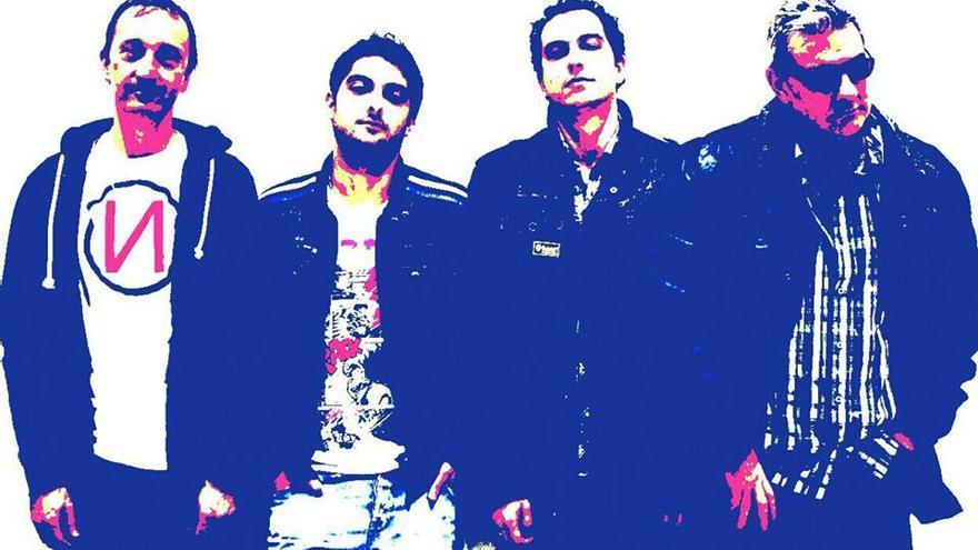 Imagen promocional del grupo Vanden