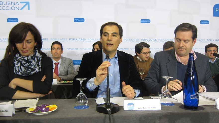 Nieto preside este lunes la Junta Directiva del PP tras conocer que no podrá optar a la reelección
