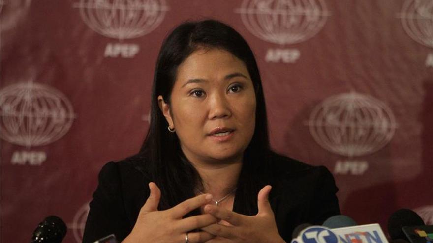 Keiko Fujimori continúa primera en la intención de voto para las presidenciales de 2016
