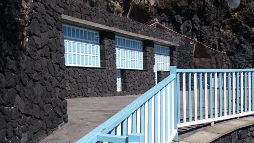 Imagen del bar de la zona del Charco Azul, en el litoral de San Andrés y Sauces. Foto: CC.