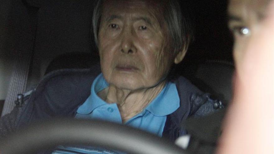 El expresidente Fujimori pasó su primera noche en libertad en una lujosa casa de Lima