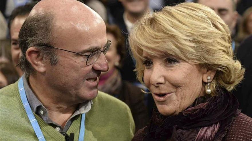 Aguirre aboga por una bajada impositiva y por administraciones más pequeñas