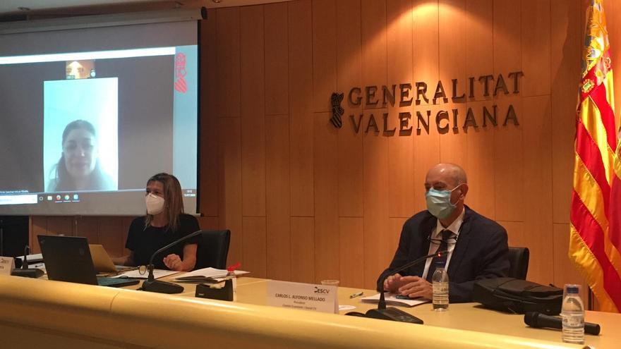 Presentación de la memoria del Comité Económico y Social de la Comunitat Valenciana.