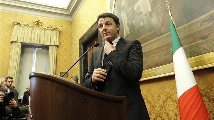 Renzi presenta hoy su Gobierno al Presidente de la República