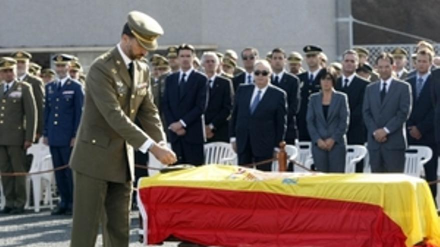 Cabello fue bautizado por deseo propio antes de morir en el hospital de Herat