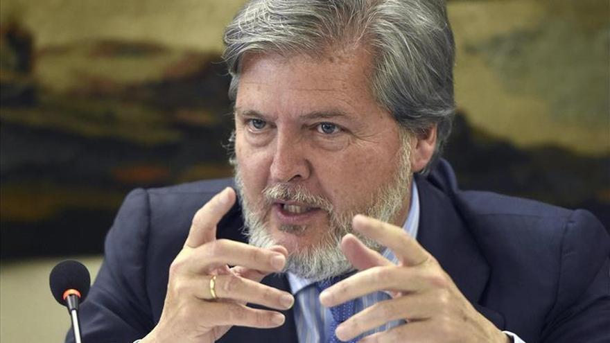 El nuevo ministro de Educación, Iñigo Méndez de Vigo. / Efe