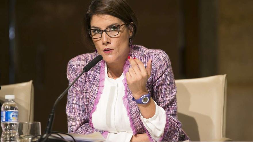 Elisa Barrientos, directora del Instituto de la Mujer de Extremadura