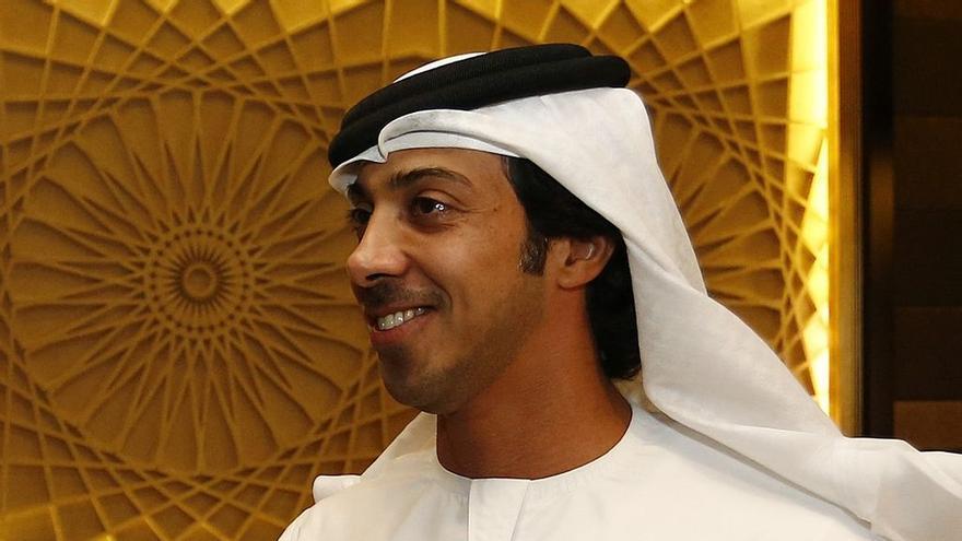 Mansour bin Zayed Al Nahyan, jeque de Abhu Dabi, Emiratos Árabes Unidos, y dueño del Manchester City