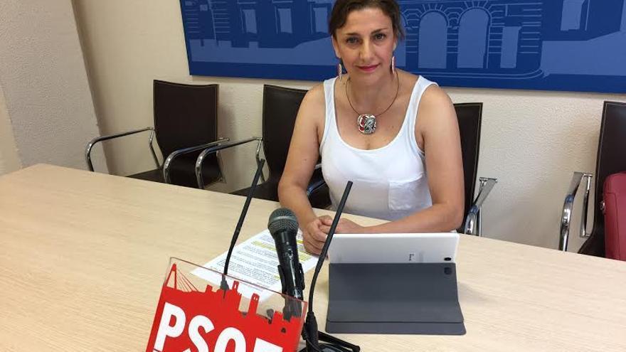 Montserrat Rincón concejala PSOE Badajoz