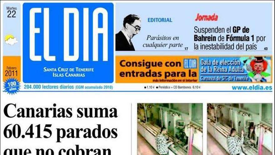De las portadas del día (22/02/11) #4