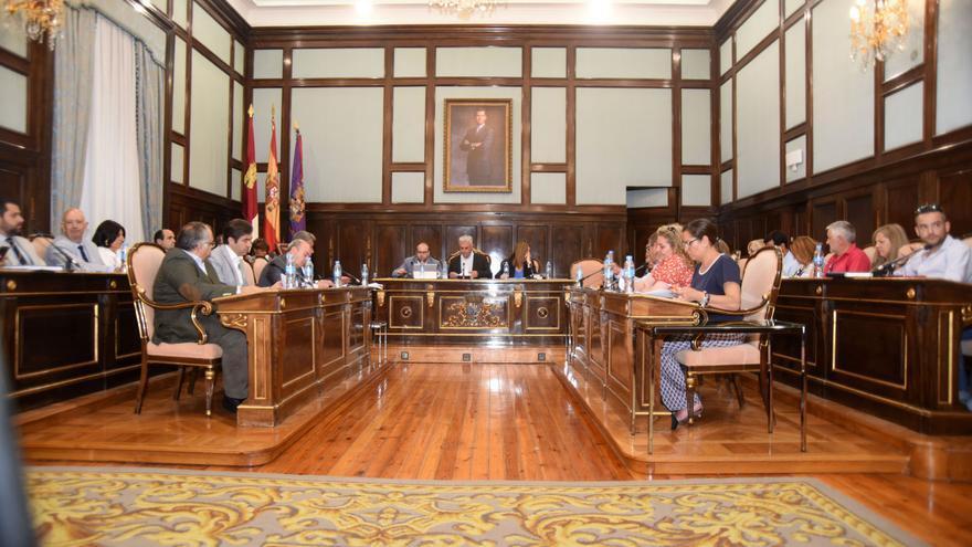 Pleno en la Diputación de Guadalajara