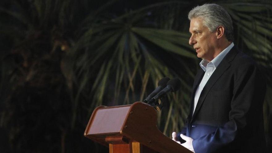 Miguel Díaz-Canel, presidente cubano.