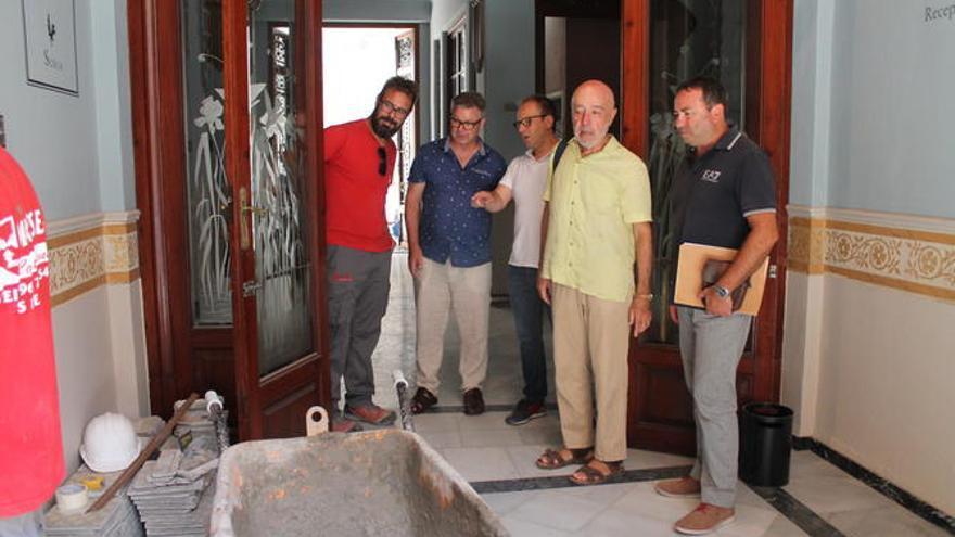 Les obres de l'Espai Joan Fuster finalitzen a Sueca