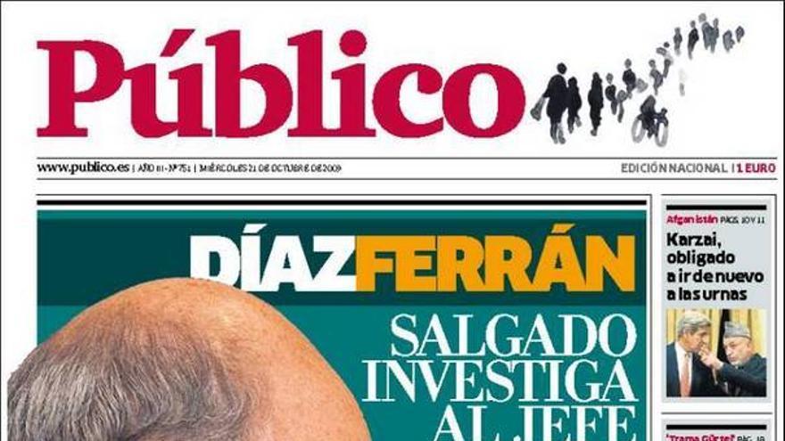 De las portadas del día (21/10/2009) #10