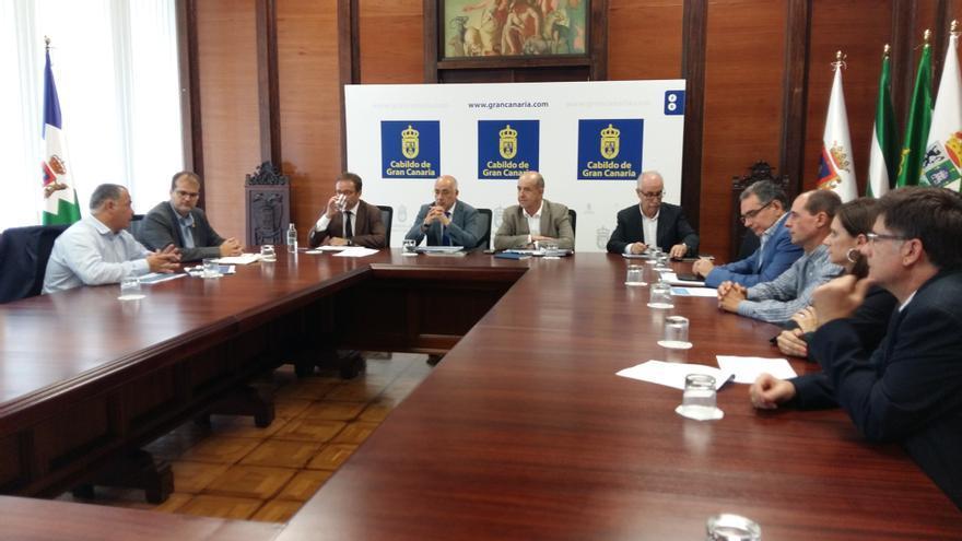 La Plataforma de Excelencia en Biotecnología de Algas, integrada por el Cabildo, el Gobierno canario y la Universidad, se reunió este jueves para coordinar las acciones.
