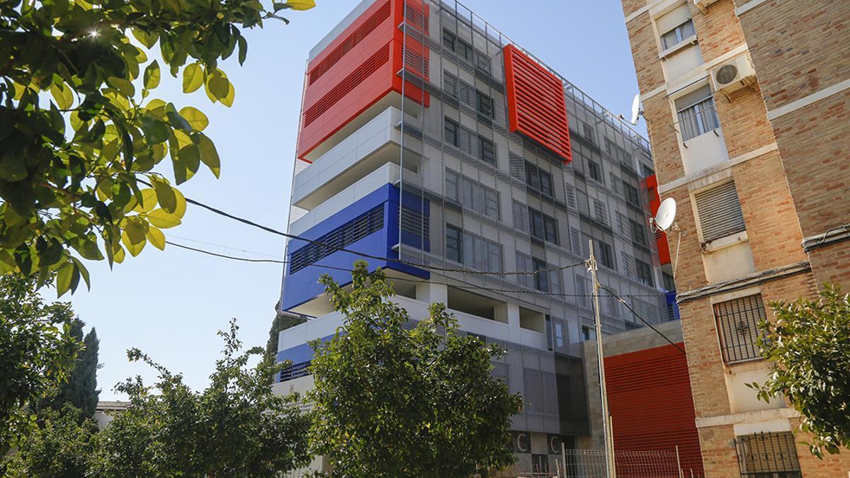 Edificio de la Normal de Magisterio | ÁLEX GALLEGOS