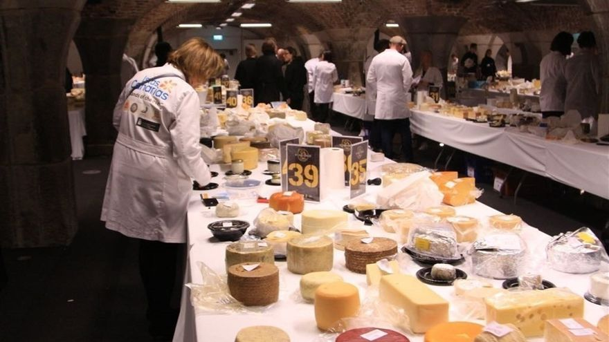 Cata de quesos de la World Cheese Awards 2017