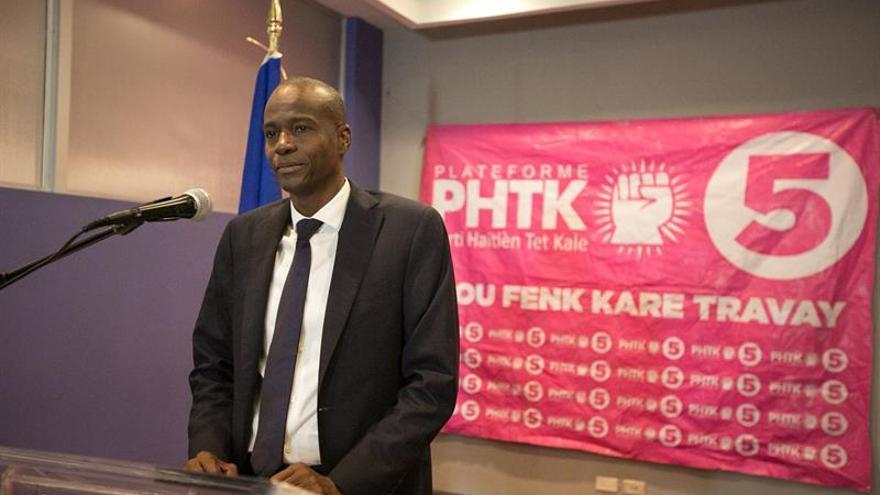 Candidatos a la Presidencia de Haití no reconocen la victoria de Jovenel Moise