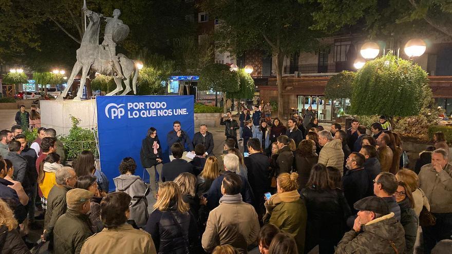 Cierre de campaña del PP en Ciudad Real