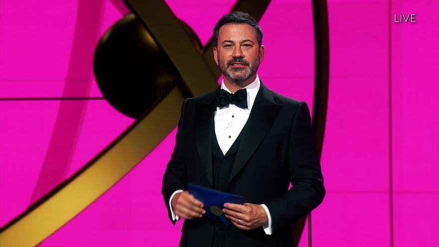 Jimmy Kimmel en la entrega de los Emmy 2020