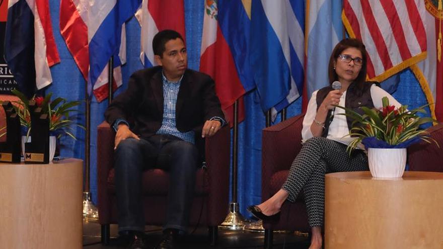 Confirman la desaparición de helicóptero con la hermana del presidente de Honduras