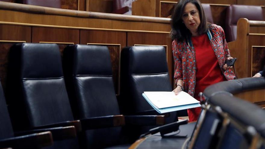"""Robles asegura que Sánchez preside un Gobierno """"sólido"""" y con principios"""