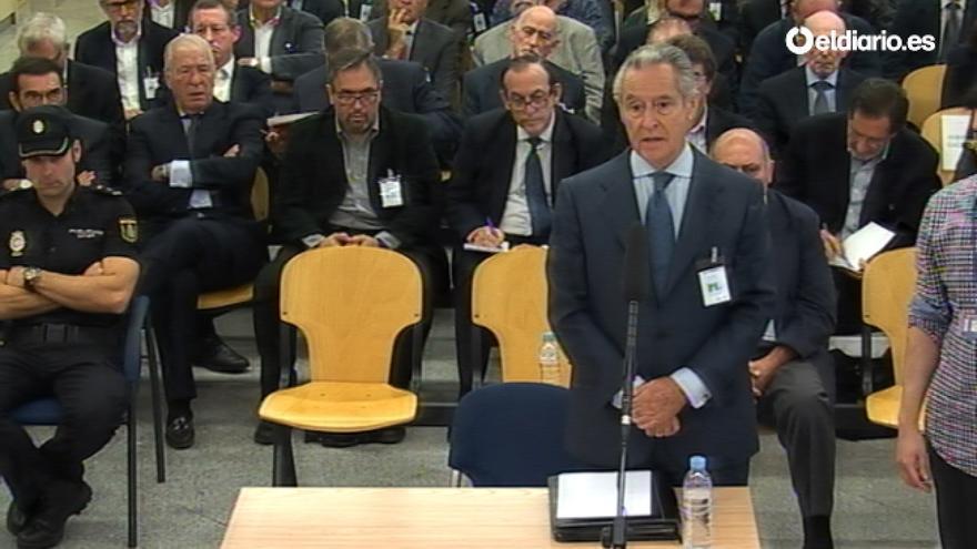 Miguel Blesa declara en el juicio por las tarjetas black.