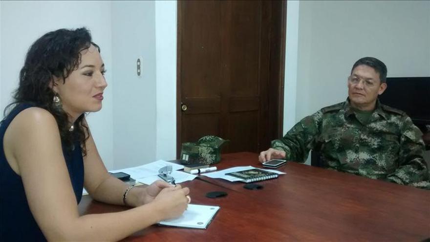 Las FARC liberan en noroeste de Colombia al general Alzate y sus acompañantes