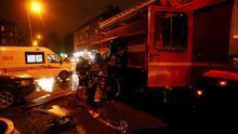 Al menos cinco pacientes de COVID-19 mueren en un incendio de un hospital de San Petersburgo