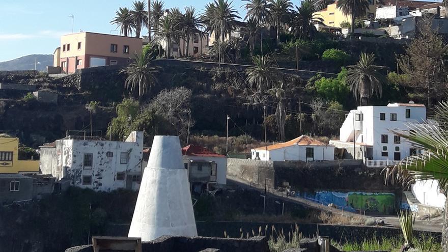 Horno de cal del barrio de San Andrés.